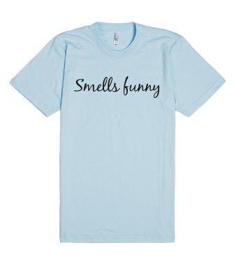 Smells funny