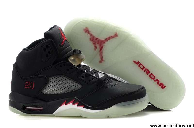 the best attitude 2ec3d 576f6 Buy Cheap Black White Air Jordan 5 Glow In The Dark Fashion Shoes Shop