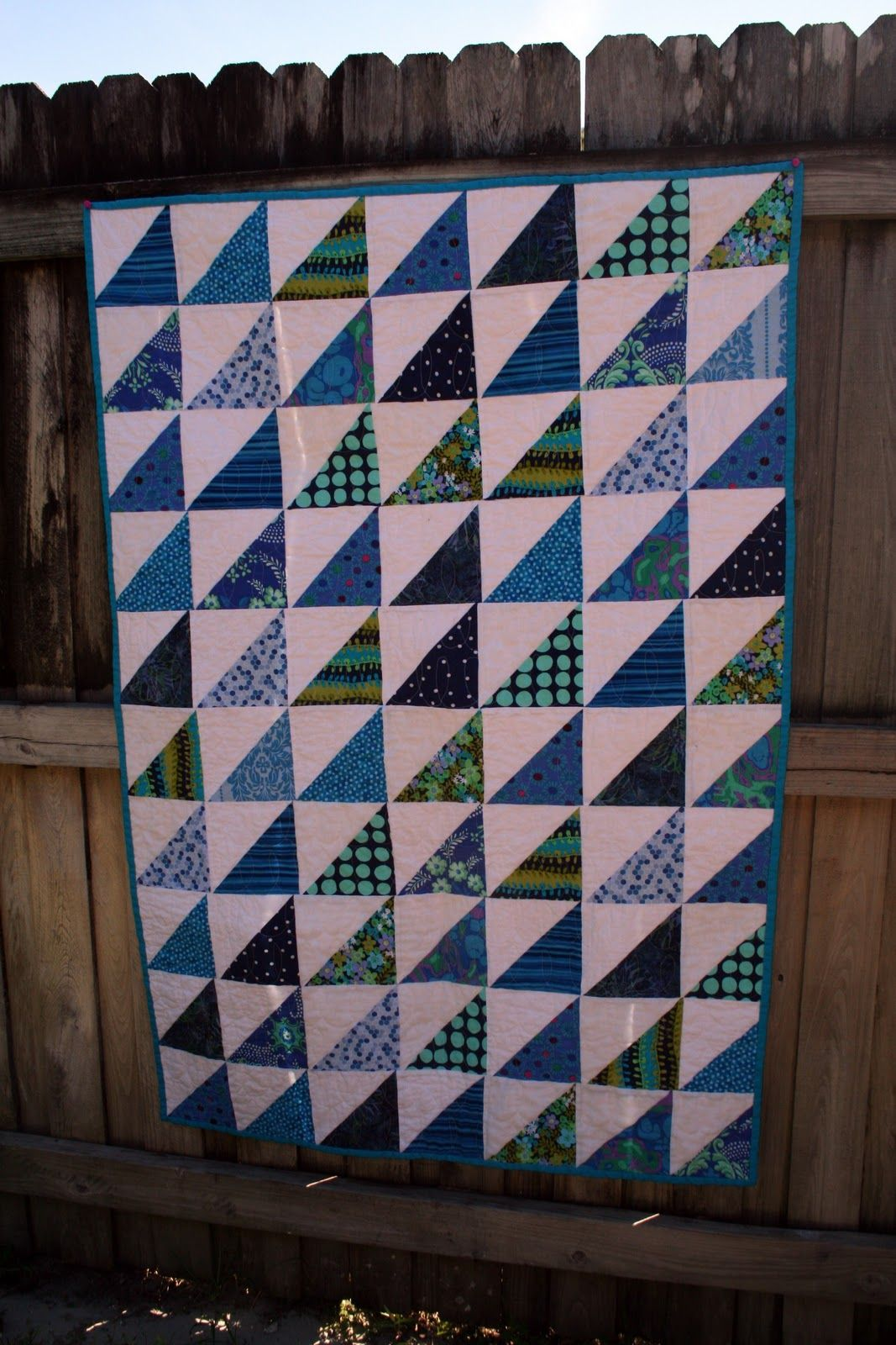 in His Grace: quilting