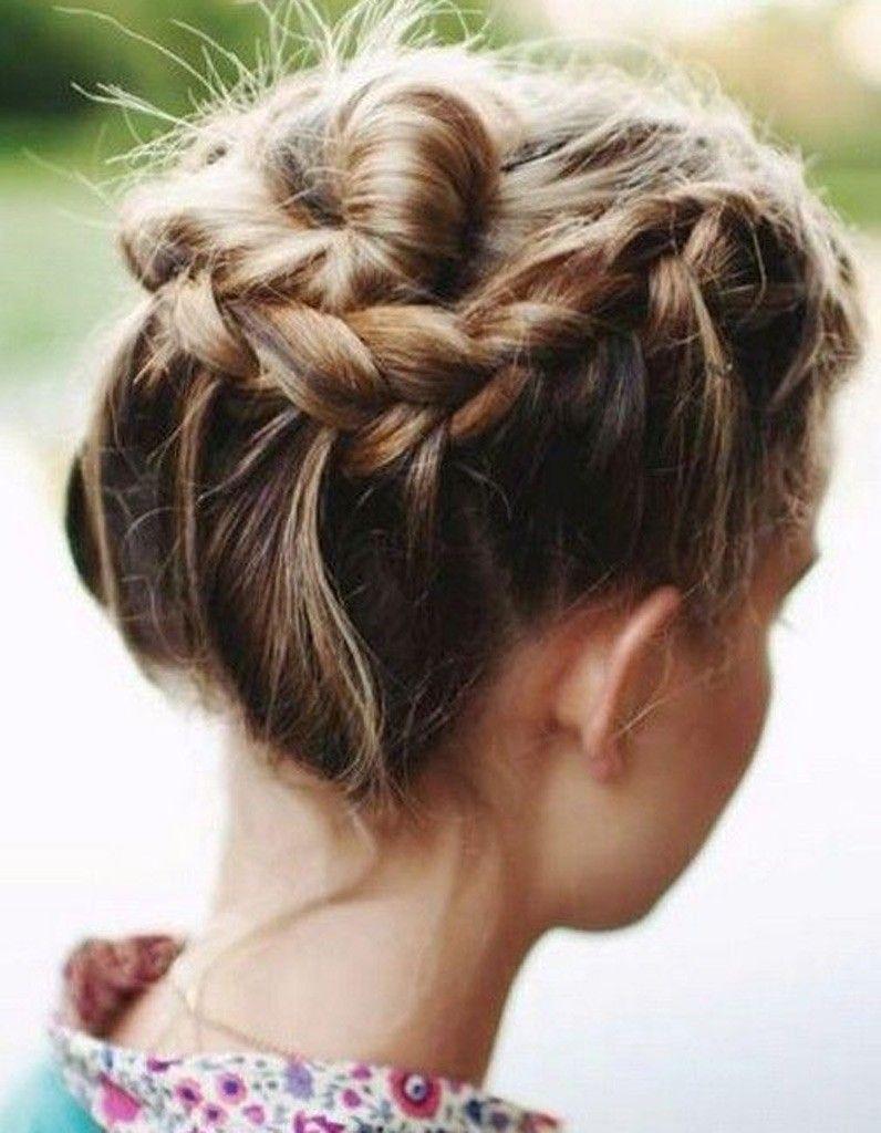 Coiffure cheveux milongs facile et rapide automnehiver