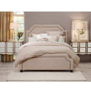 Best Carlyle Upholstered Collection Upholstered Beds Bedrooms Art Van Furniture Michigan S 400 x 300