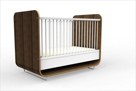 Anchor Your Nursery With A Modern Heirloom The Nest Crib By Ooba