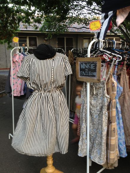Marketfinds I Review Melbourne Markets Show You My Finds Boutique Clothing Displays Flea Market Booth Market Stalls
