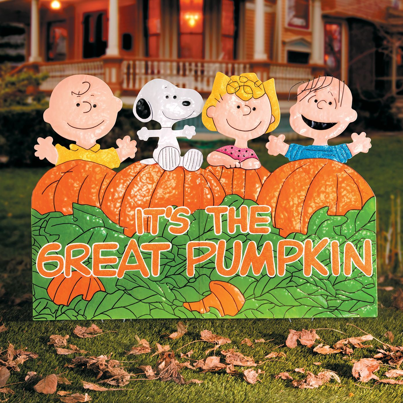 "Celebrate the 50th anniversary of ""It s the Great Pumpkin"