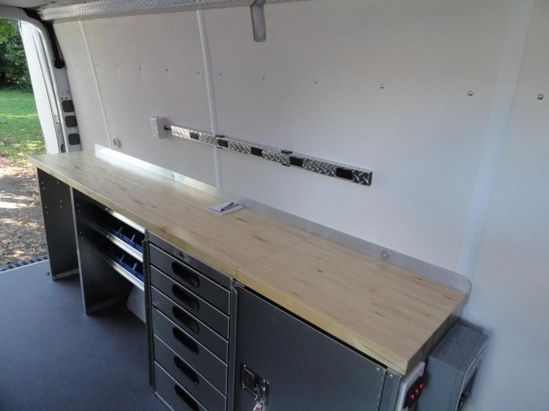 Sprinter Van Conversion Workbench