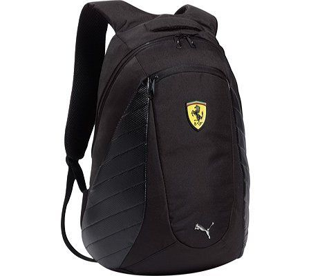 Puma Ferrari Replica Backpack Book bag Black-One Size PUMA.  79.98 ... 56c6d33752749