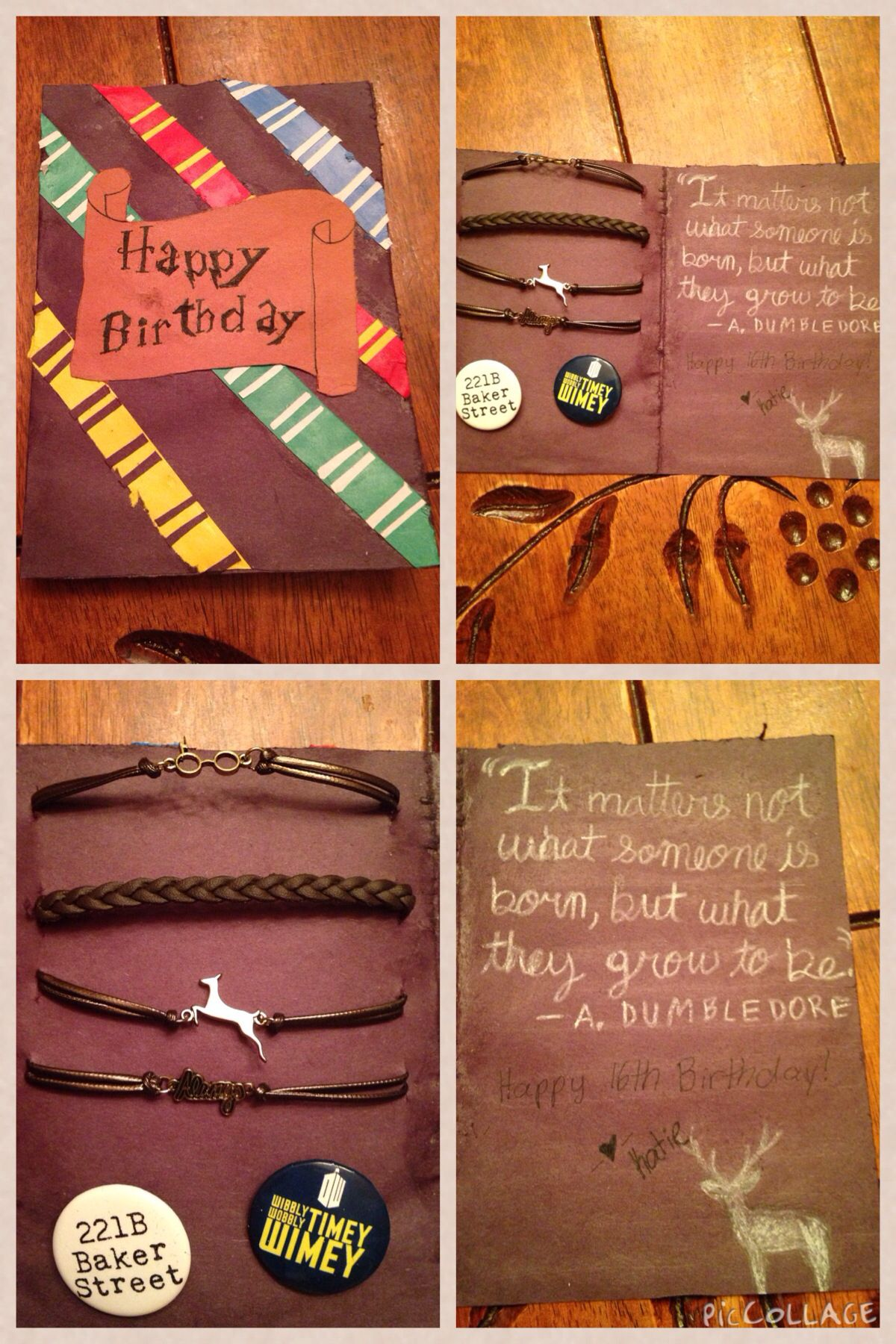 Harry Potter Birthday Card Diy Movies And Tv Shows