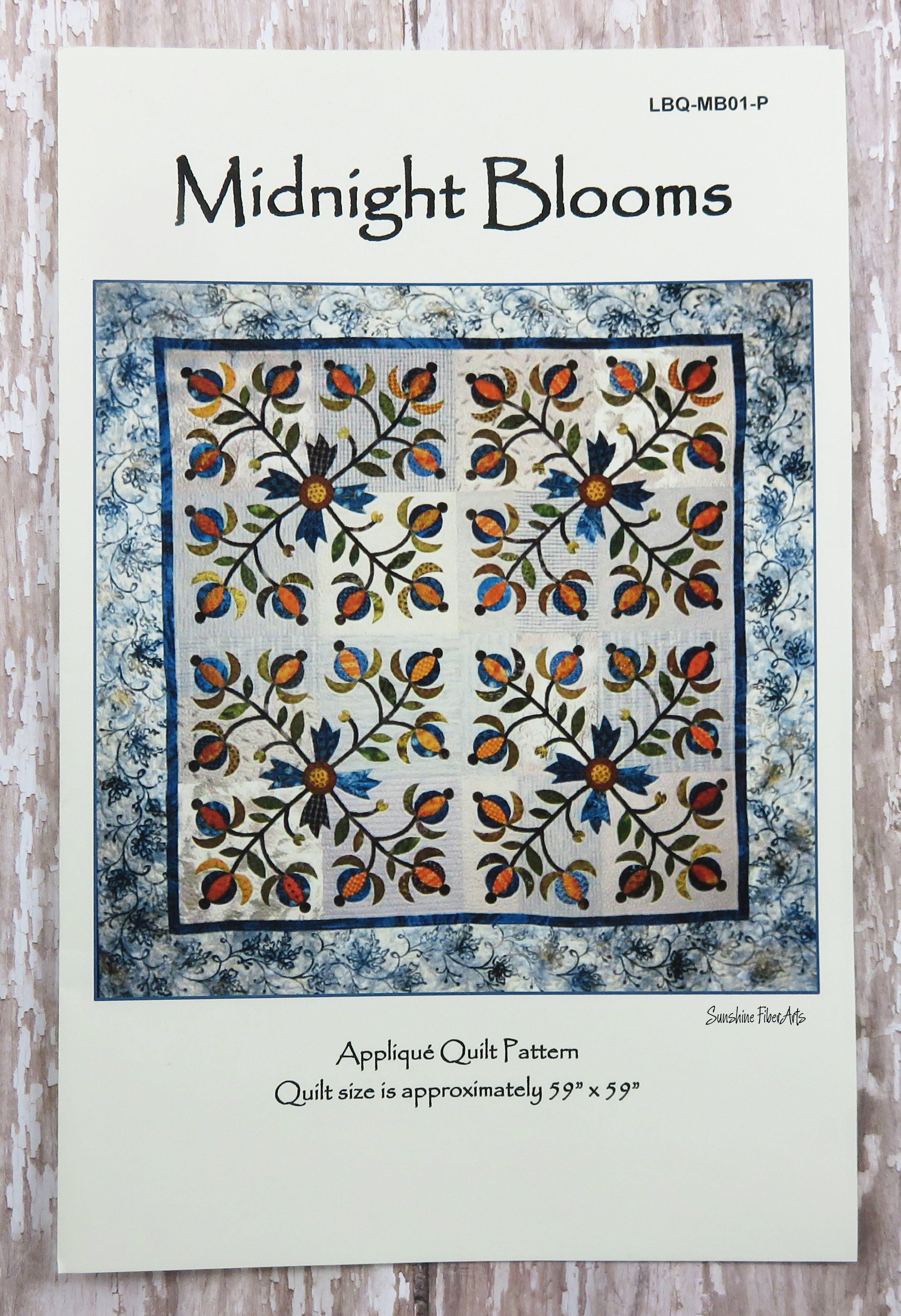 Midnight Blooms Quilt Pattern | Products