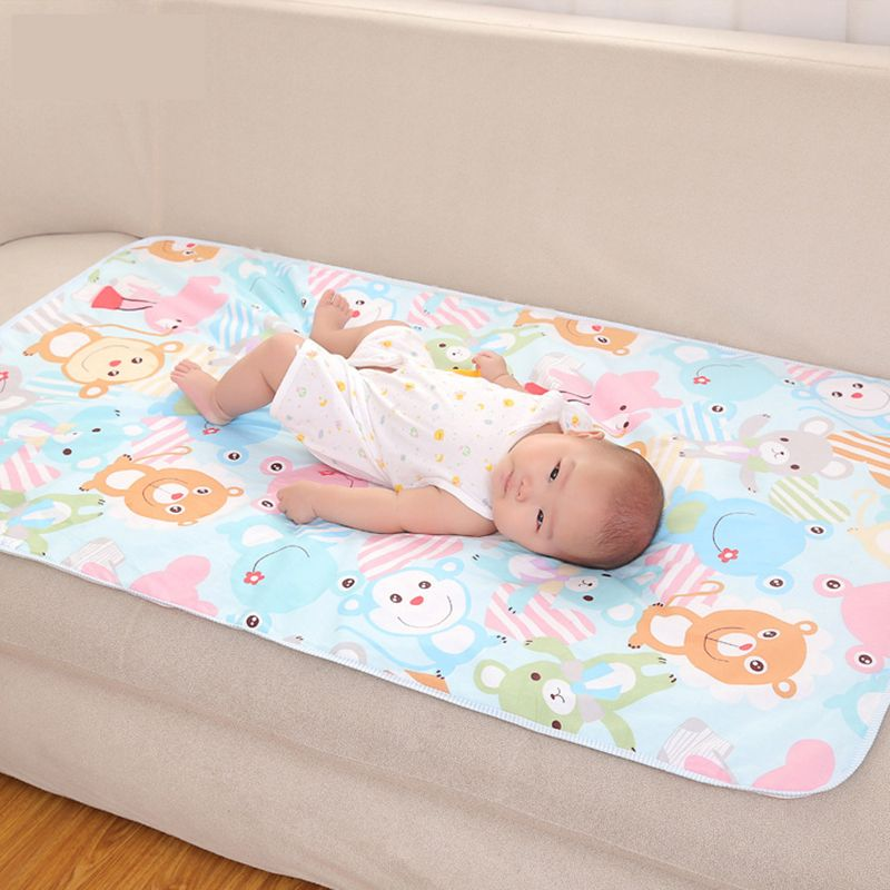 Click To Buy Baby Changing Mat Cartoon Cotton Waterproof Sheet Baby Changing Urine Pad Table Game Pla Baby Changing Mat Waterproof Baby Baby Changing Pad