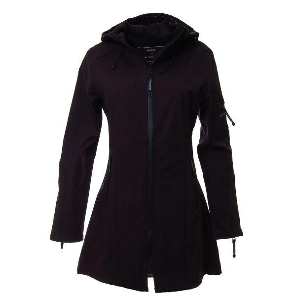 3c723f2b05e Ilse Jacobsen - Sort 3/4 lang regnjakke. | I wish for... | Tøj og ...