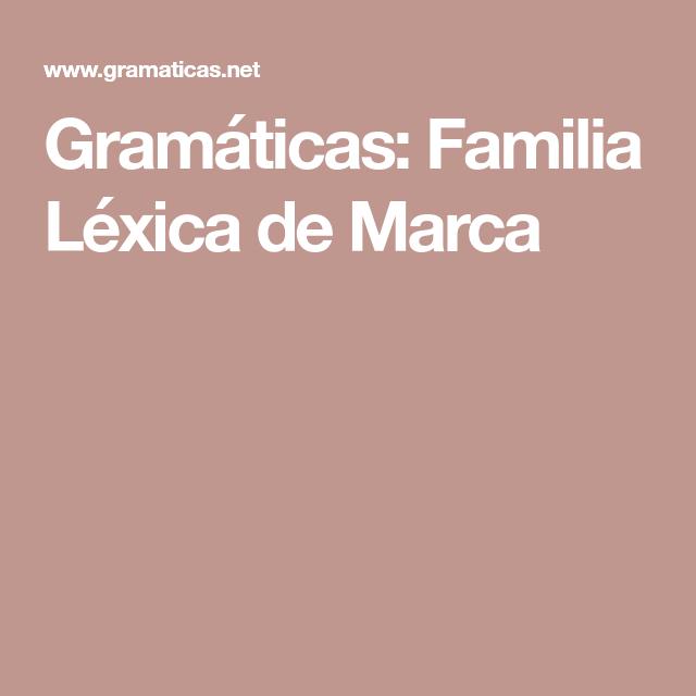 Familia Lexica De Nube