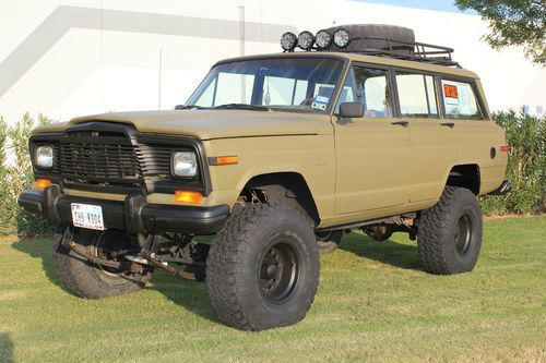 Buy Used 1984 Jeep Grand Wagoneer 4x4 Custom Lift And Paint In El