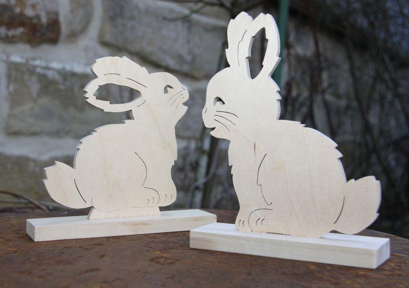 Laubsäge Hase als Osterdeko von Die Geschenkestube auf DaWanda - küchenschranktüren einzeln kaufen