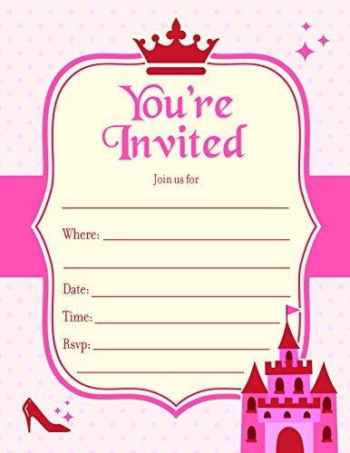 fill in the blank birthday event invite