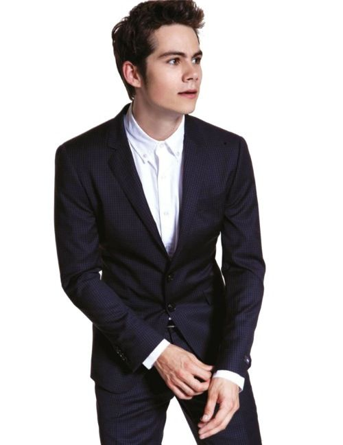 0d413e1de53d Dylan O Brien in a suit  I love it(