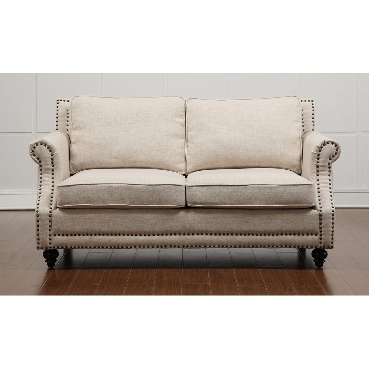 Tov Furniture Camden Beige Linen Loveseat Tov 63801 2 Beige Beige Sofa Linen Sofa Furniture