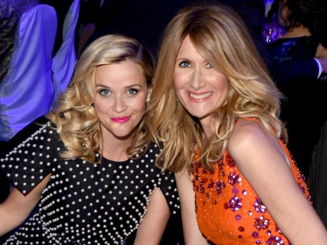 Diane Ladd, Laura Dern's mom, isn't too happy with how mean her daughter's character is being to Reese Witherspoon's character in HBO's Big Little Lies