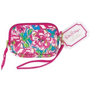 $15. Lilly Pulitzer - Camera/Tech Case - Lucky Charms from Swoozies