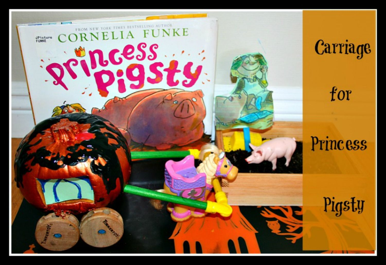 Pumpkin Carriage For Princess Pigsty