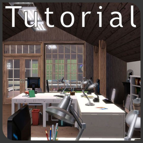 Ceiling Lamp The Sims 4: Sloped Ceiling Tutorial
