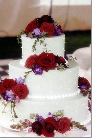 red and purple wedding cakes - Google Search | Wedding Inspiration ...