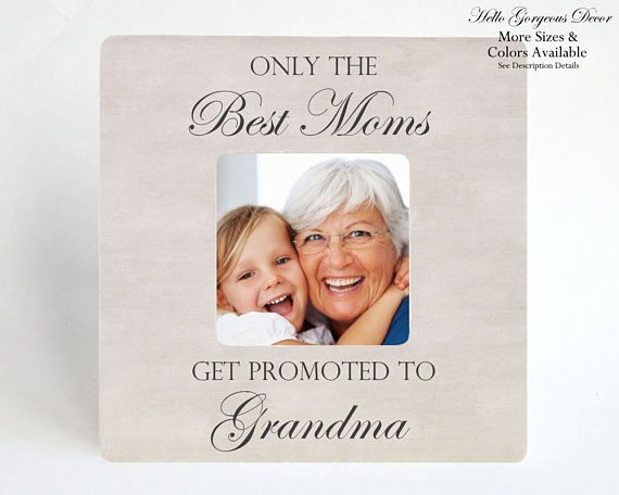 Grandmother Grandma Gift Personalized Picture Frame New Grandmother ...