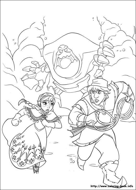15 Free Disney Frozen Coloring Pages Disney Pinterest Frozen