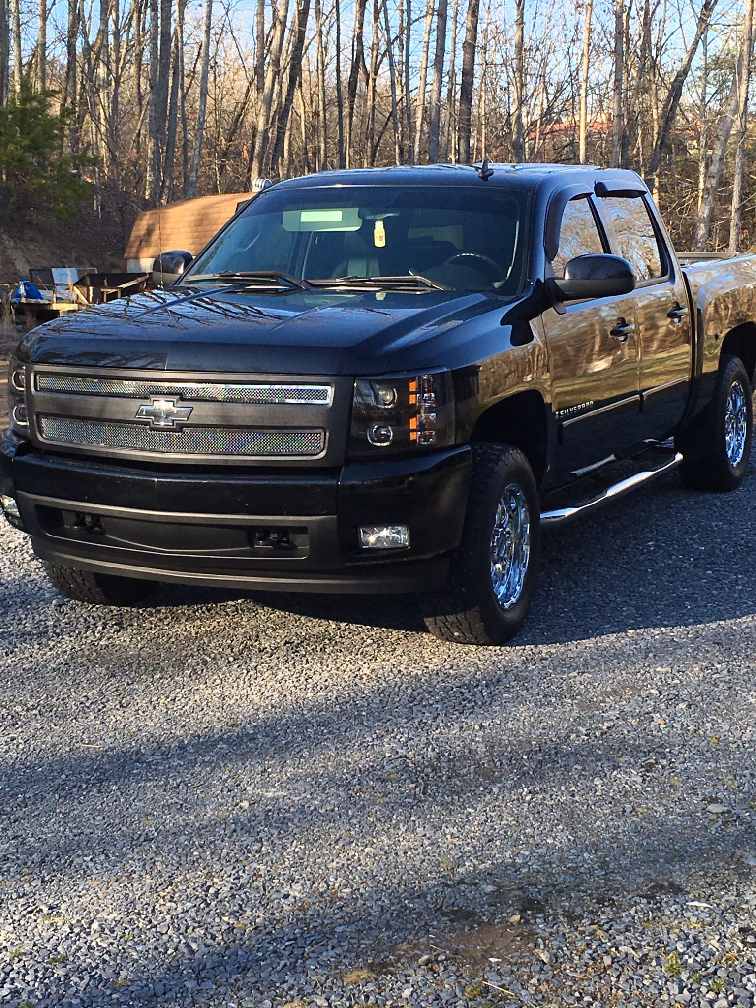 2008 Chevy Silverado Ltz With New Black Halo Headlights By Vipmotoz On Ebay