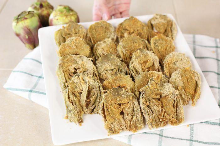 Photo of BAKED BAKED ARTICHOKES   quick and easy recipe-CARCIOFI PANA…