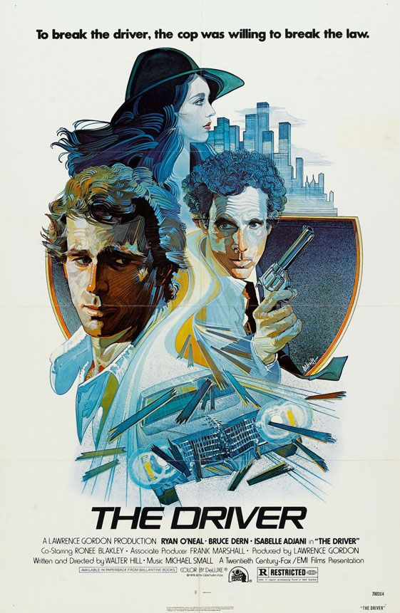The Driver (Walter Hill, 1978) Design by Daily
