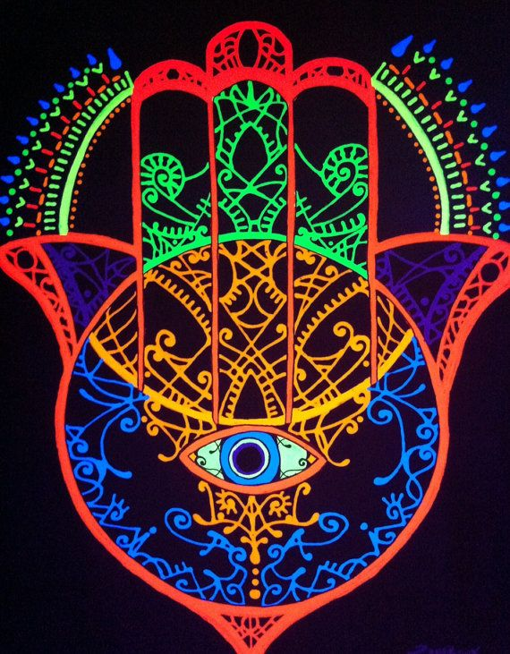 Psychedelic Hand Of Fatima