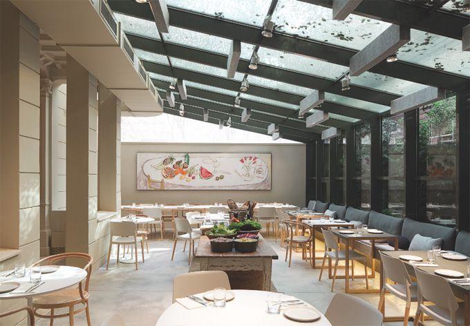Restaurant in Barcelona.