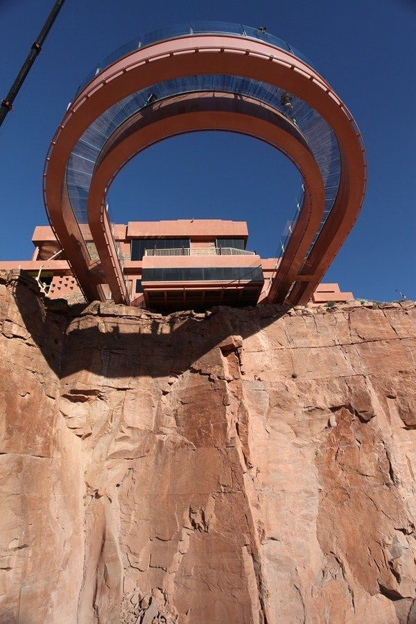 Under Skywalk Glass Bridge Grand Canyon Grand Canyon West Incredible Places Grand Canyon National Park