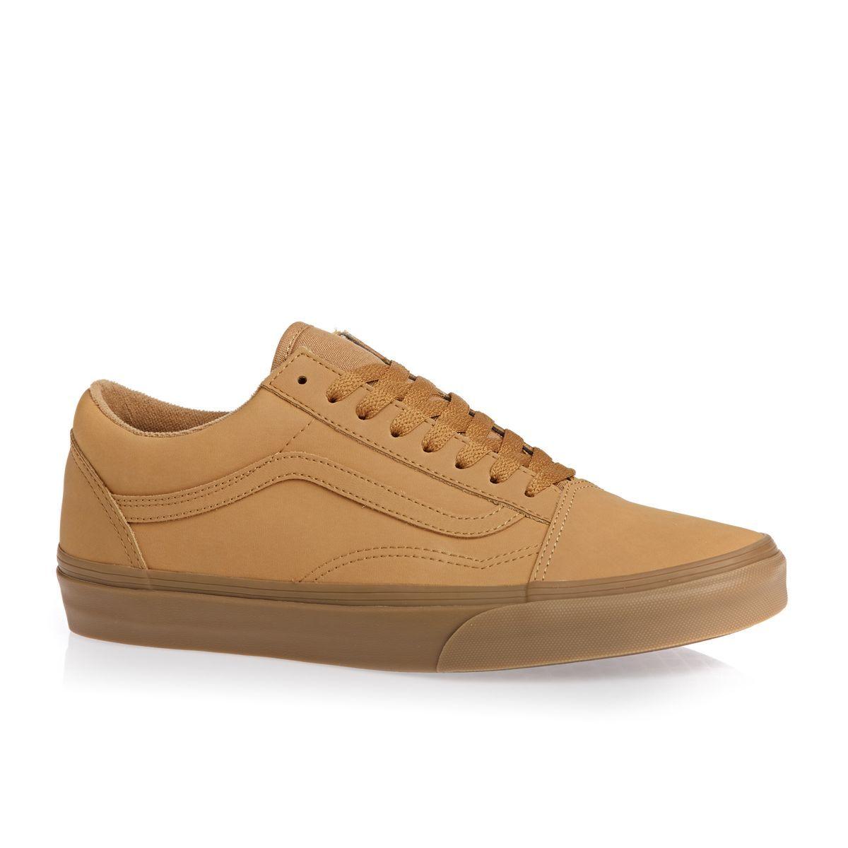 0b7bacad82 Vans Skate Shoes - Vans Old Skool Shoes - Light Gum Mono