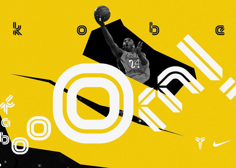 Kobe Bryant — Brand Typeface on Behance Kobe bryant