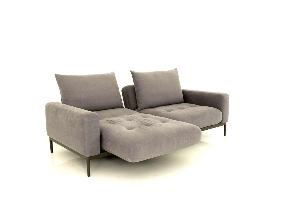 rolf benz tira sofa in grauen stoff mit relaxfunktion zum sonderpreis sectional couch