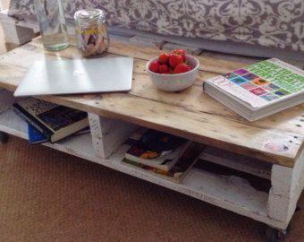 Reclaimed Wood Coffee Table Lemmik In Farmhouse Style Boho
