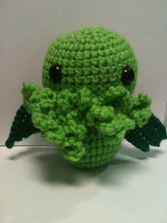 Chibi Cthulhu amigurumi | crochet | Pinterest | Patrones amigurumi y ...