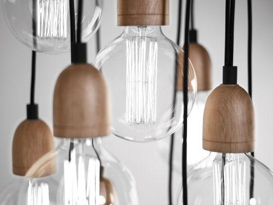 Allgemeinbeleuchtung | Pendelleuchten | Ilde Wood | B.LUX | David #simple #design #light