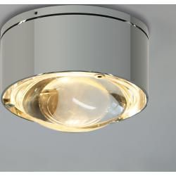 Photo of Top Light Puk One 2 wall lamp / ceiling lamp nickel matt lens clear Standard version Top LightTop
