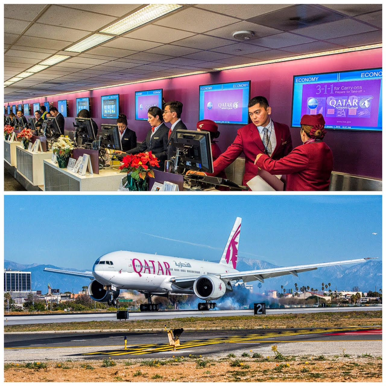 Qatar Airways Kicked Off The New Year Launching Into The Skies With Daily Nonstop Lax Doha Service Let S Welcome Qatar Airways To Qatar Airways Qatar Lax