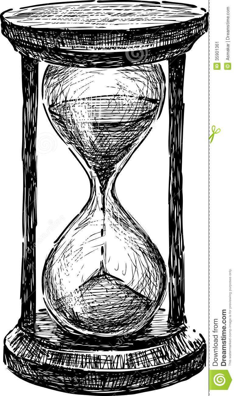 Hourglass stock image image 35901361