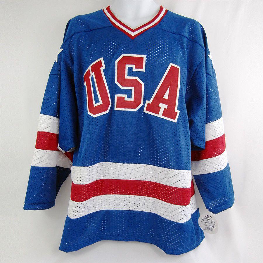 Youth Hockey Jersey Vintage Replica 1980 Usa Olympics Size Yl K1 Usa Hockey Jersey Youth Hockey