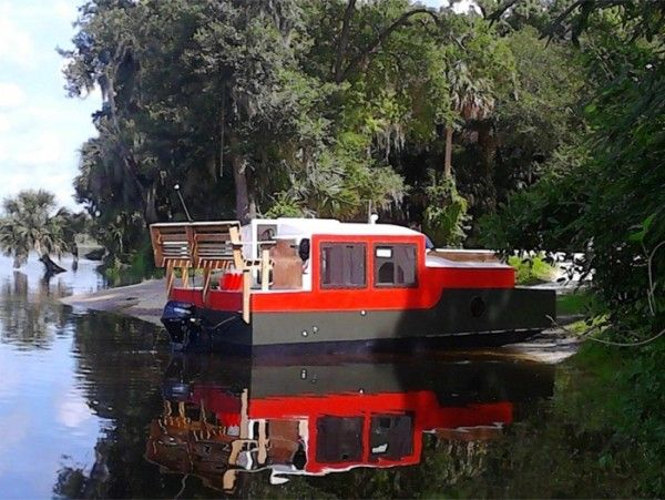 A Diy Shantyboat You Can Rent In Florida Wood Boat Plans