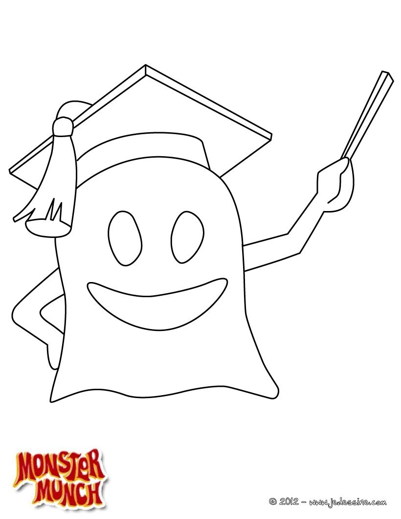 Coloriage Monster Munch | Coloriage | Pinterest