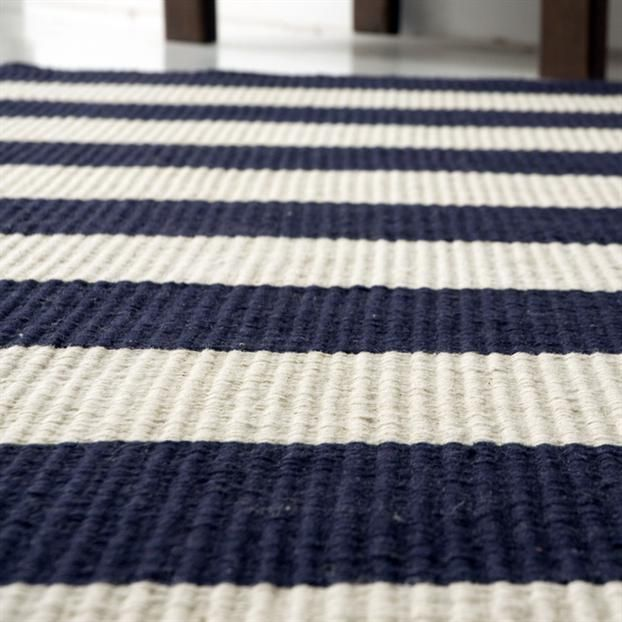 Navy White Striped Rug Malibuhamptonblue My Dream Home In 2019