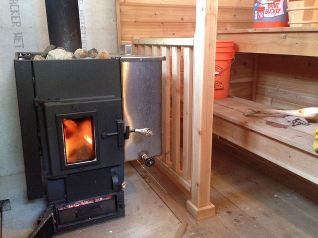 Kuuma Fantastic Wood Burning And Electric Sauna Stoves And Heaters - Wood Burning Sauna Stove WB Designs