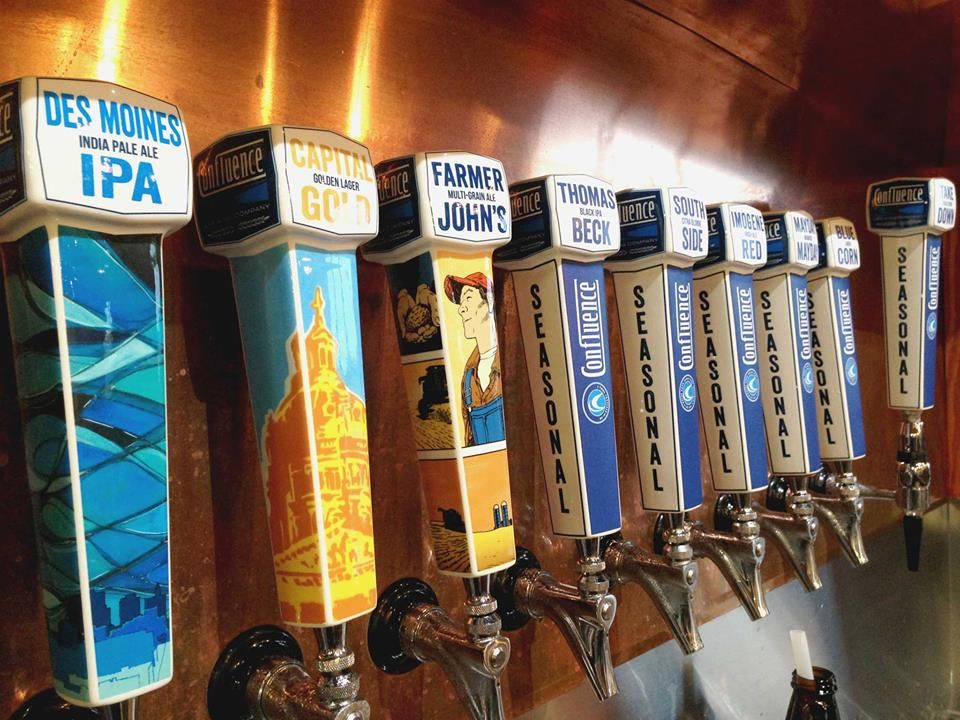 Brew taps at confluence brewery brewing company