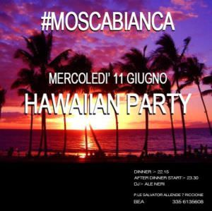 Primo Hawaii party al Moscabianca #Riccione con Ale Neri. http://ow.ly/xQED7