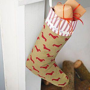 Dog Lover's Christmas Stocking